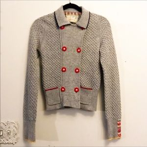 Anthropologie Sparrow Sweater Cardigan Jacket